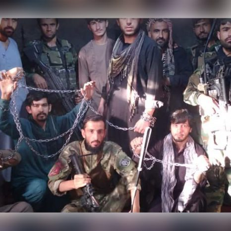 رهایی هشت نظامی از یک زندان طالبان در بغلان
