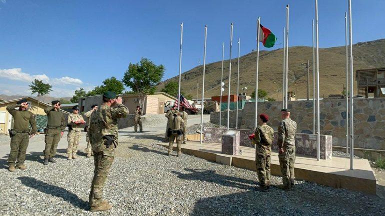 کمپ مورهد به نیروهای کماندو واگذار شد