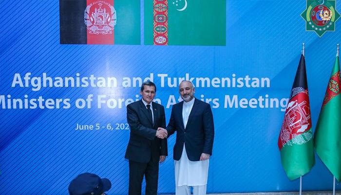 رشید مردوف، وزیر خارجه ترکمنستان بر گسترش همکاریهای اقتصادی با افغانستان تأکید کرده است. عکس: اداره محلی هرات