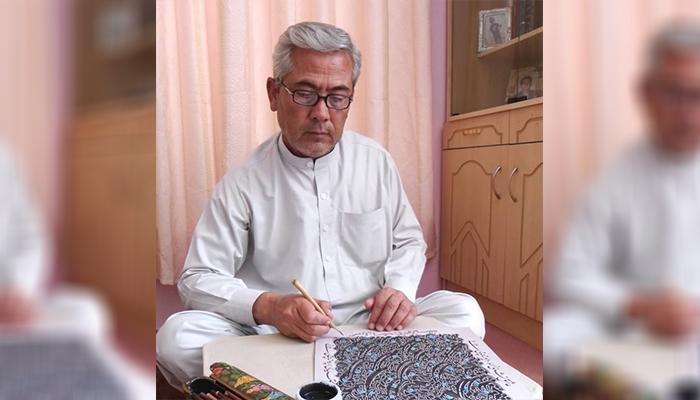 سلمانعلی ارزگانی به «هنر متعهد» باور دارد و میگوید هنرمند باید برای بهبود وضعیت جامعه کار کند. عکس ارسالی به اطلاعات روز.