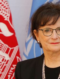دیبورا لاینز، نماینده ویژه سازمان ملل برای افغانستان