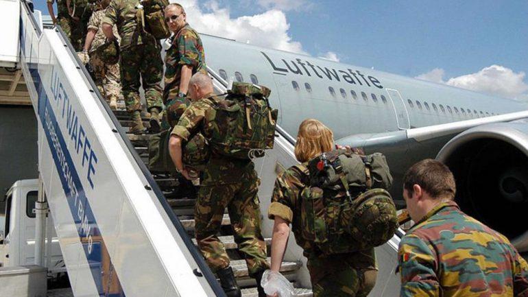 خروج نیروهای آلمانی از افغانستان
