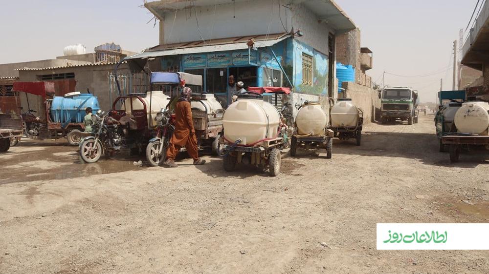 بحران آب آشامیدنی در نیمروز