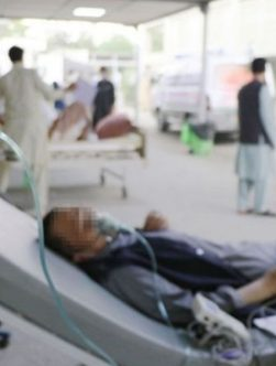 کمبود آکسیجن در افغانستان