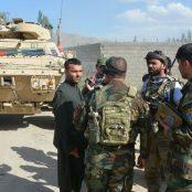 عملیات نیروهای ارتش در ولسوالیهای نرخ و جلریز