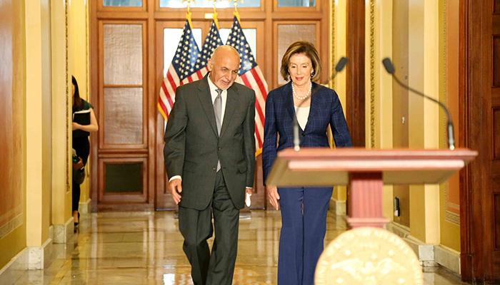 حکومت افغانستان میگوید با خروج نیروهای خارجی از کشور، فصل نو روابط افغانستان و امریکا شروع شده است. عکس: ARG