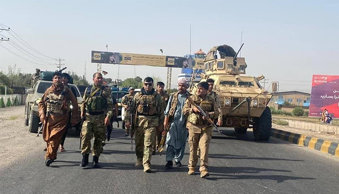 پیشروی طالبان در هرات؛ خطوط جنگ به شهر نزدیک شد