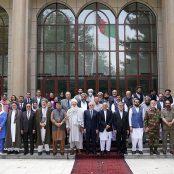 جلسهی مشورتی با بزرگان سیاسی در ارگ
