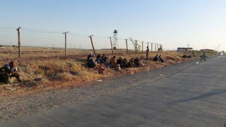 عقبنشینی نیروهای افغان به تاجیکستان