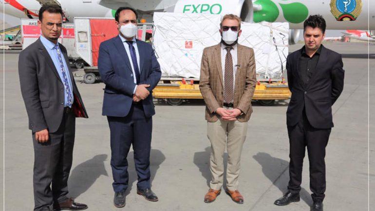 سویدن 124 هزار دوز واکسین کرونا به افغانستان کمک کرد