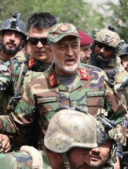 بسمالله محمدی، سرپرست وزارت دفاع ملی