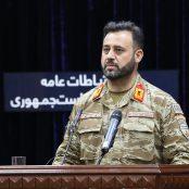 اجمل عمر شینواری، سخنگوی قوای مسلح