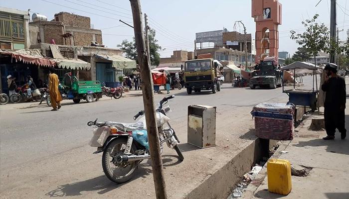 عقبنشینی طالبان از شهر قلعهنو برگشت آرامش به این شهر عکس: شبکههای اجتماعی