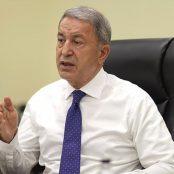 خلوصی آکار، وزیر دفاع ترکیه