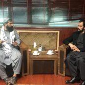دیدار مجروح با کمیسیون صحت طالبان