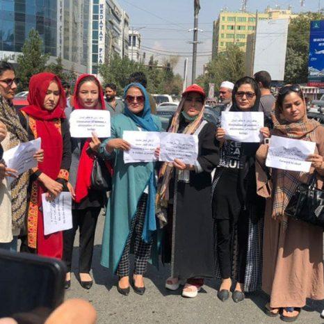 اعتراض زنان