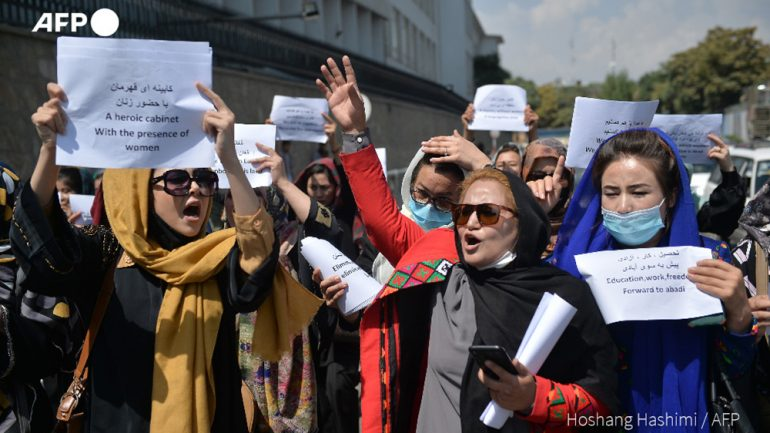 گردهمایی زنان در کابل