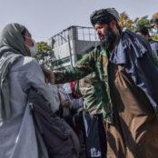 زنان معترض افغان